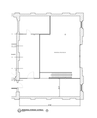 GPHT Electric Lounge (Mezzanine) - Plan Drawing