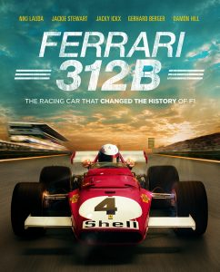 Ferrari 312B - poster artwork