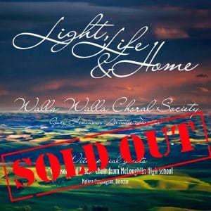"WW Choral Society Concert: ""Light, Love & Home"""