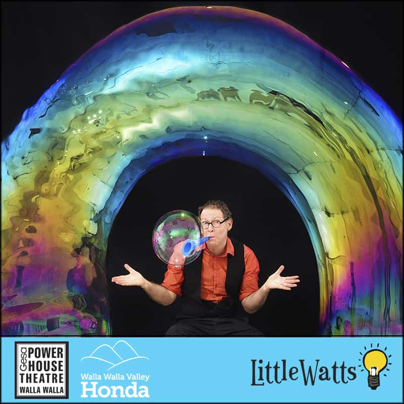 Little Watts Family Series - The Amazing Bubble Man photo